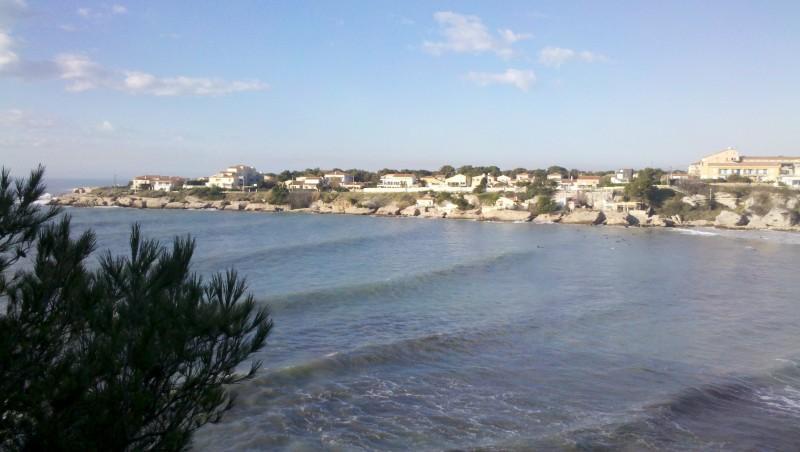 Surf report Plage du Verdon - France (13) 2012-12-15 10:45:00
