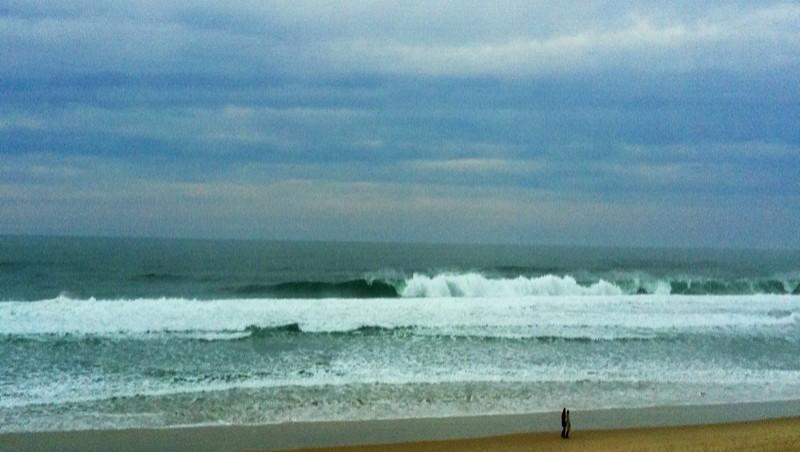Surf report Mimizan - Plage Sud - France (40) 2012-12-24 16:20:00