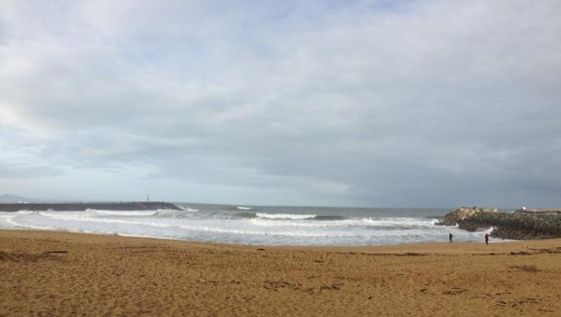 Surf report Anglet La Barre - France (64) 2012-12-30 11:20:00