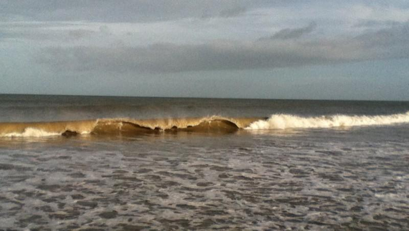 Surf report Franceville - France (14) 2012-12-30 11:00:00