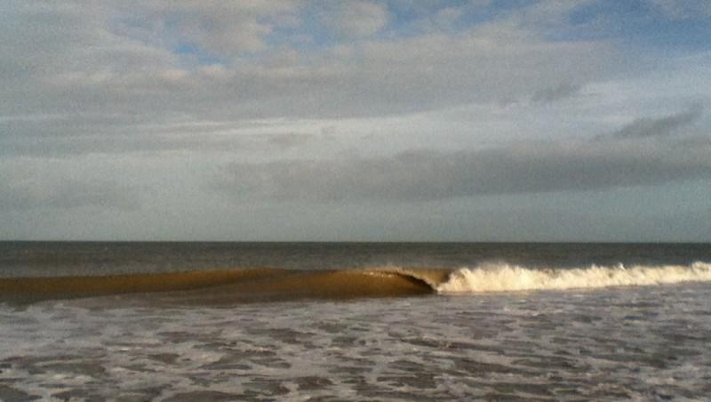 Surf report Franceville - France (14) 2012-12-30 11:00:00