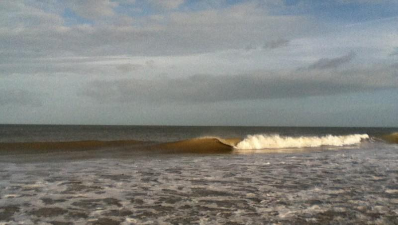 Surf report Franceville - France (14) 2012-12-30 12:10:00