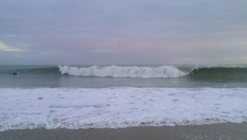 Surf report Rivedoux - France (17) 2012-12-30 05:00:00