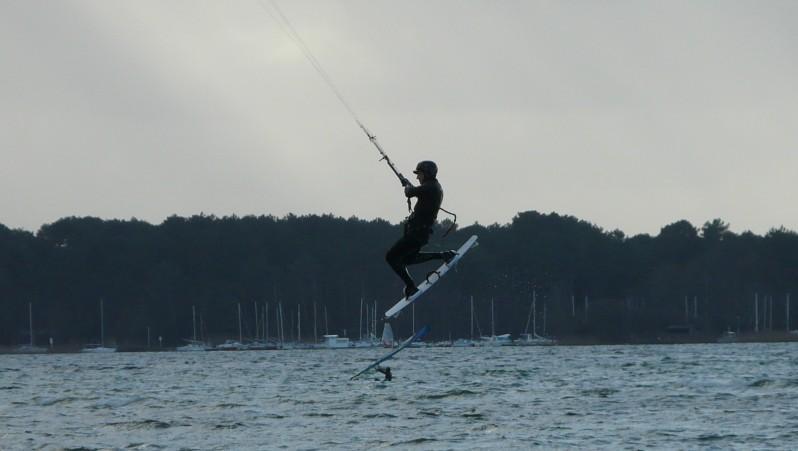 Wind report Les Aigrettes - France (40) 2012-01-02 13:00:00