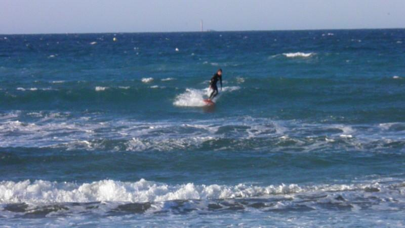 Surf report Le Prado - France (13) 2012-01-08 09:00:00