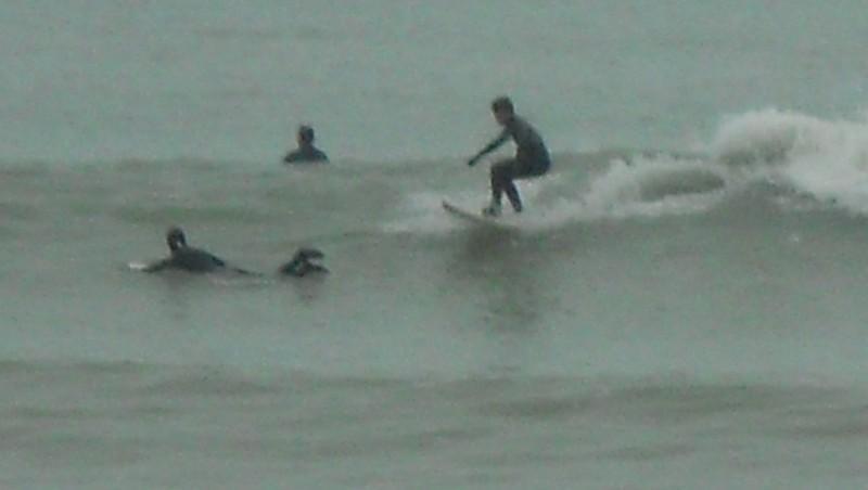 Surf report Les Sables-d'Olonne - Grande Plage - France (85) 2012-01-08 14:00:00