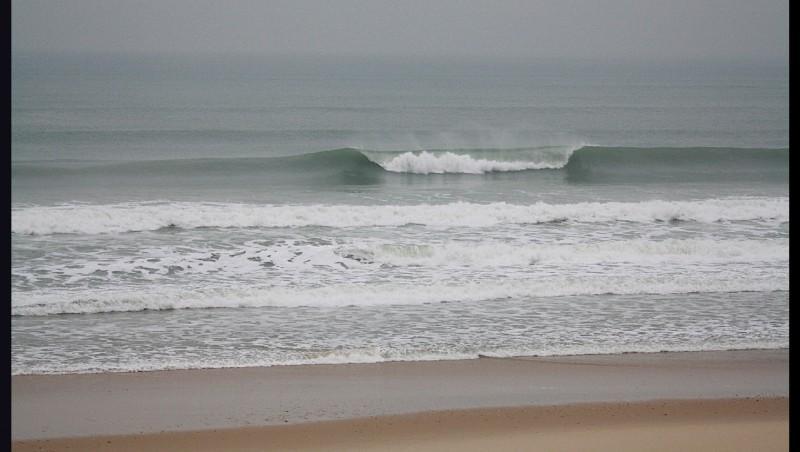 Surf report Lacanau Océan - La Nord - France (33) 2012-01-12 16:00:00