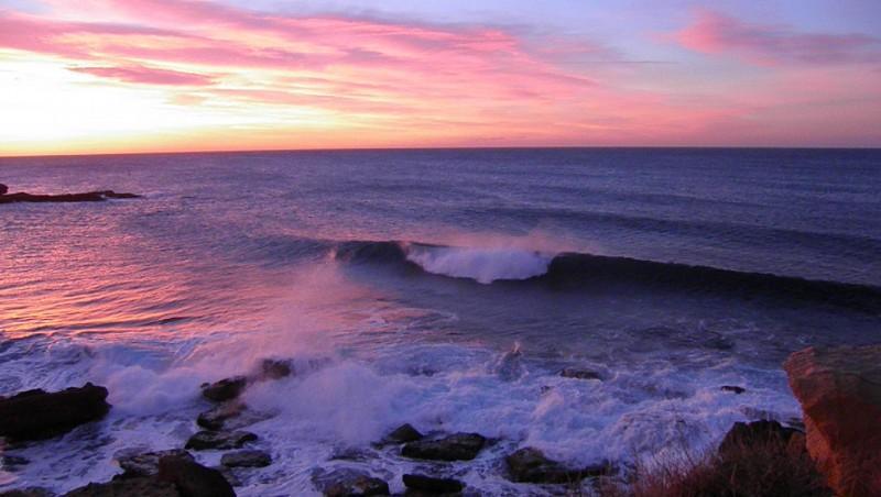 Surf report L'Arquet - France (13) 2012-01-21 08:00:00