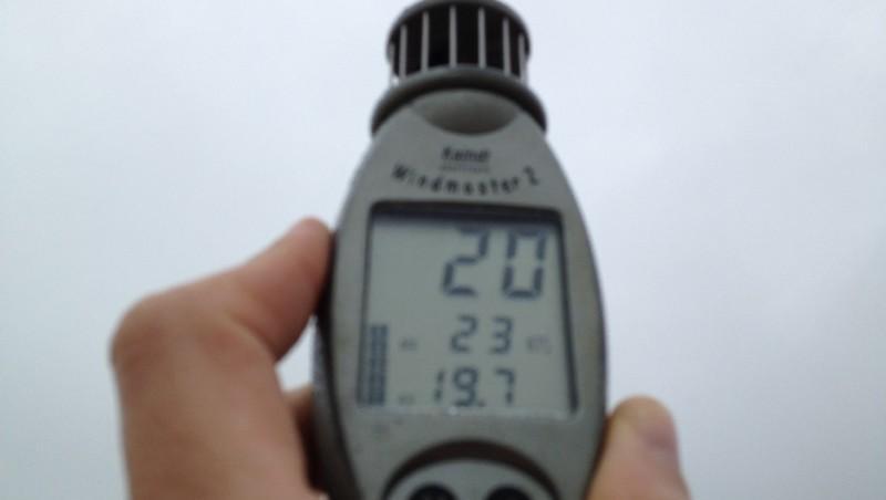 Wind report Lacanau Océan - La Nord - France (33) 2012-01-21 13:00:00