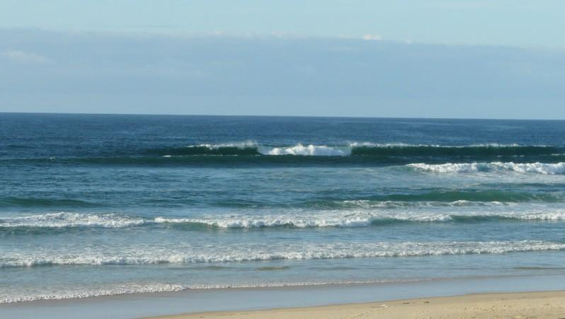 Surf report Mimizan - Plage Garluche - France (40) 2012-01-24 16:00:00