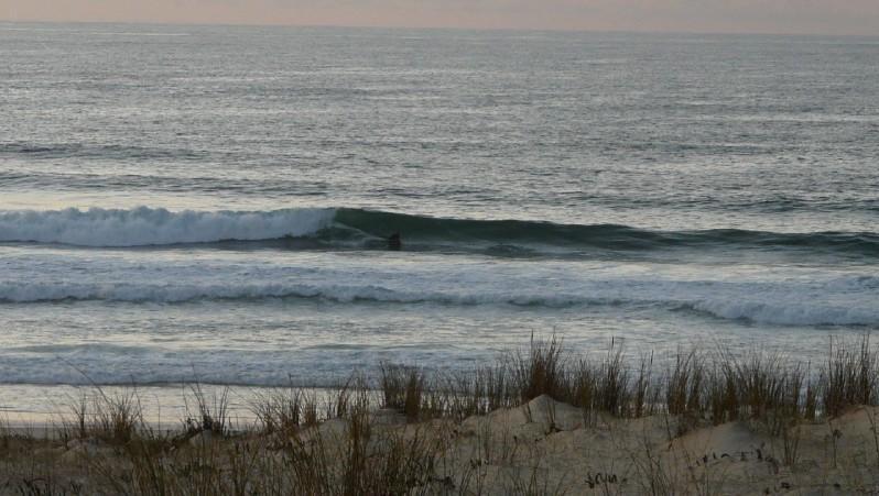 Surf report Mimizan - Plage Garluche - France (40) 2012-01-24 16:00:00