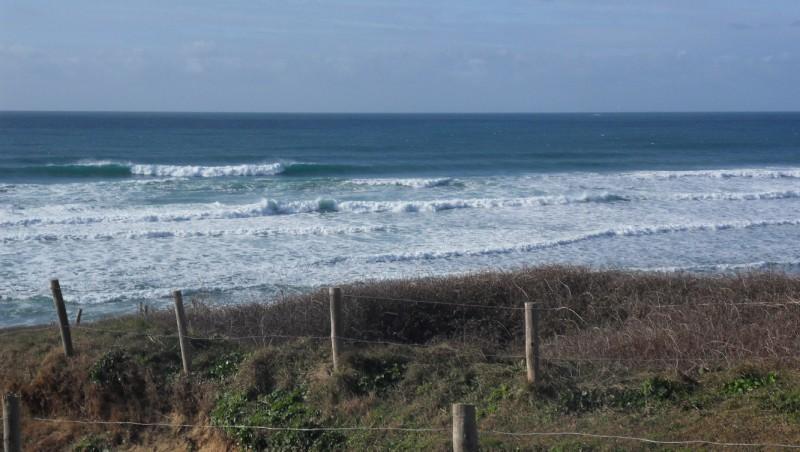 Surf report La Palue - France (29) 2012-02-05 14:00:00