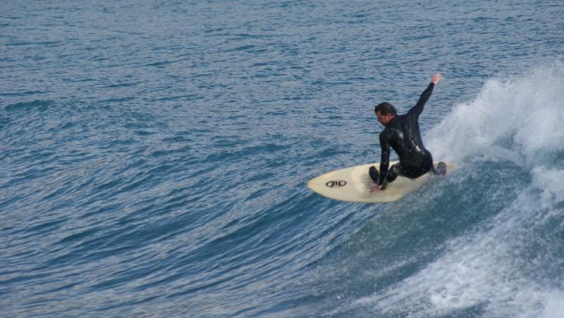 Surf report Beaulieu sur Mer - Niven - France (06) 2012-02-04 09:00:00