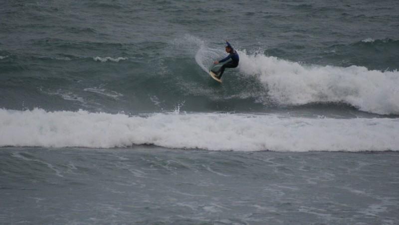 Surf report Beaulieu sur Mer - Niven - France (06) 2012-02-04 15:00:00