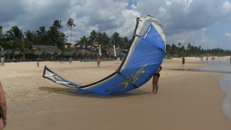 Wind report Kalpitya lagoon - Sri Lanka (LK) 2012-02-10 10:00:00