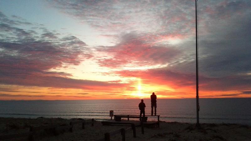 Surf report Messanges - France (40) 2012-02-23 17:00:00