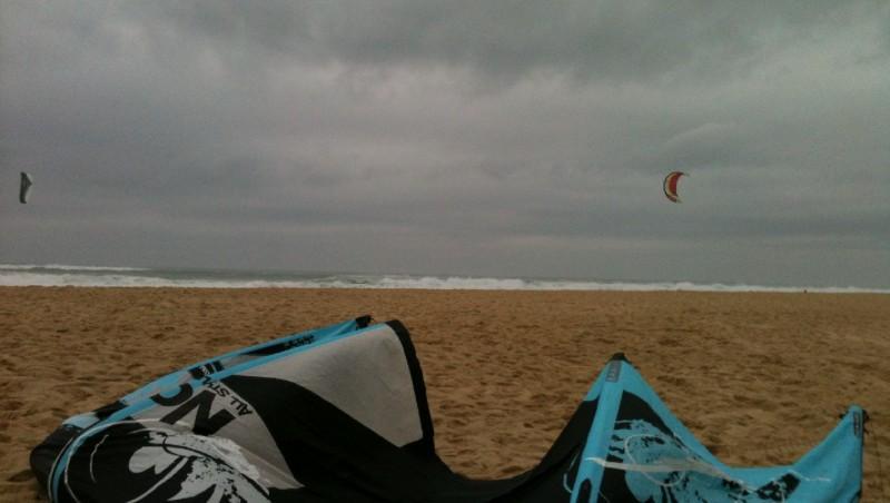 Wind report Lacanau Océan - La Nord - France (33) 2012-03-04 15:00:00