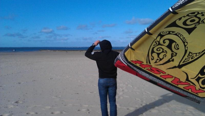 Wind report La Hume - France (33) 2012-03-05 14:00:00