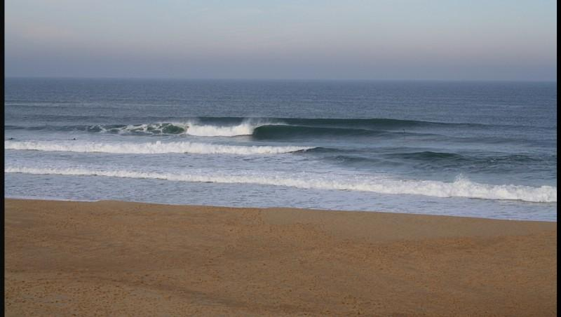 Surf report Lacanau Océan - La Nord - France (33) 2012-02-27 09:00:00