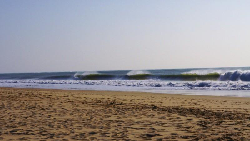 Surf report Côte Sauvage - Phare Coubre - France (17) 2012-03-25 16:00:00