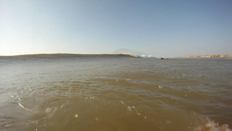 Surf report Montalivet - France (33) 2012-03-26 16:00:00