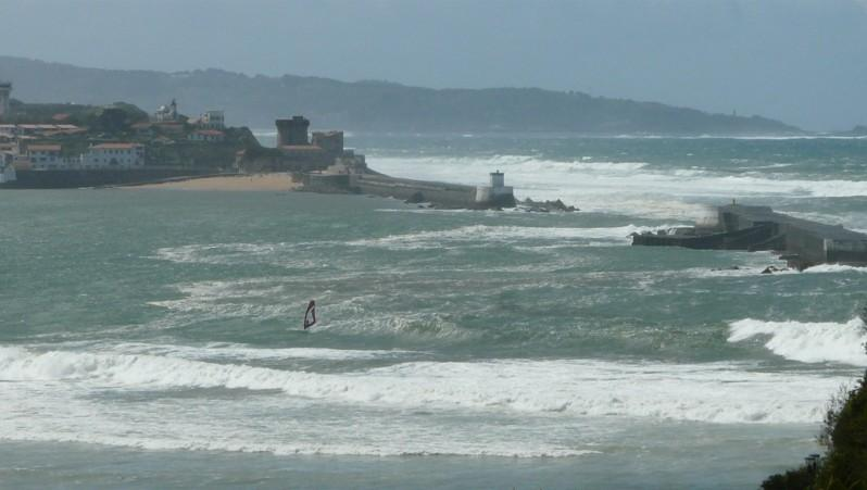 Wind report Sainte Barbe - France (64) 2012-04-24 15:00:00