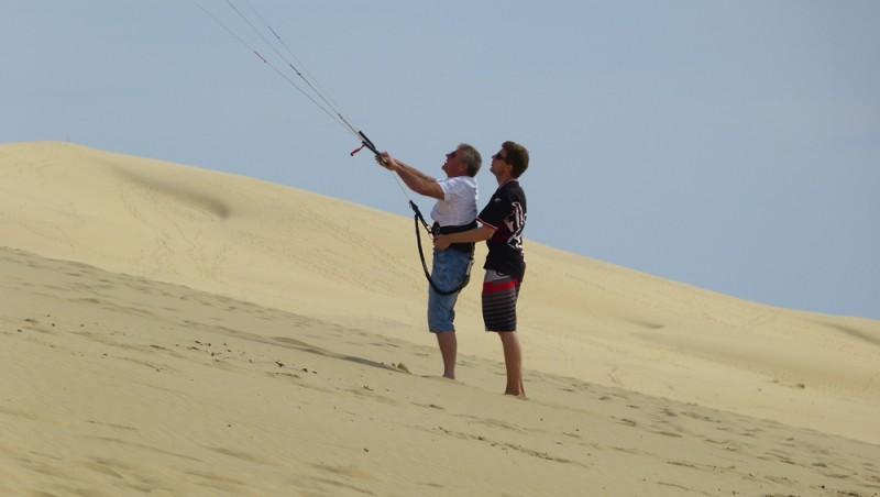Wind report Pyla-sur-Mer - France (33) 2012-06-23 16:00:00