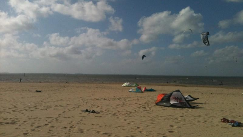 Wind report La Hume - France (33) 2012-06-21 18:00:00