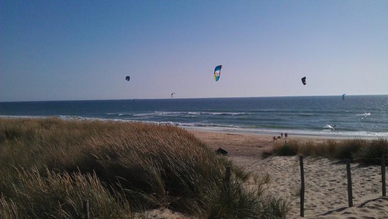 Wind report Biscarrosse Plage - France (40) 2012-06-26 17:00:00