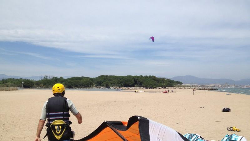Wind report Saint-Aygulf - Zone Kite - France (83) 2012-06-25 15:00:00