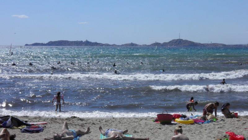Surf report Le Prado - France (13) 2012-07-15 16:00:00