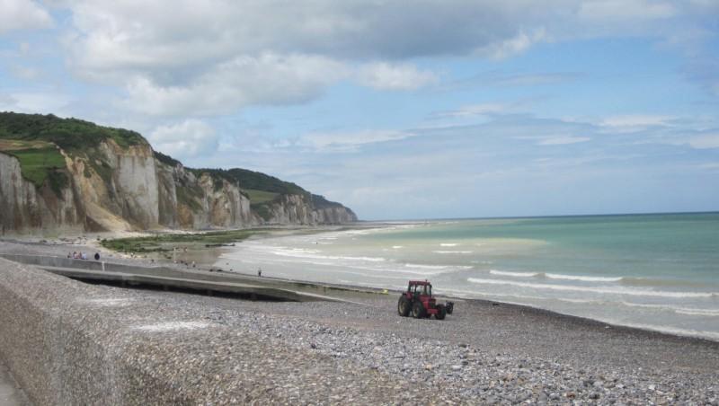 Surf report Pourville - France (76) 2012-07-29 12:00:00