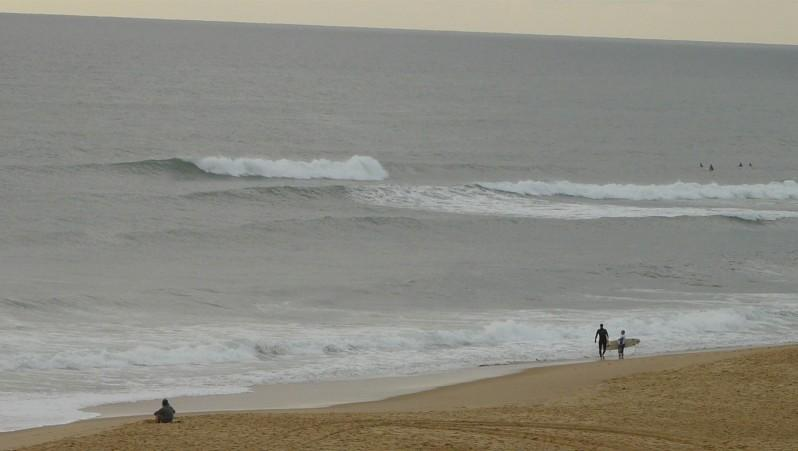 Surf report Cap de l'Homy - France (40) 2012-08-05 20:00:00