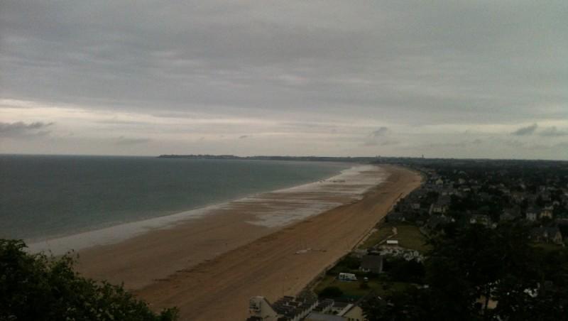 Wind report Carolles - France (50) 2012-08-13 13:00:00