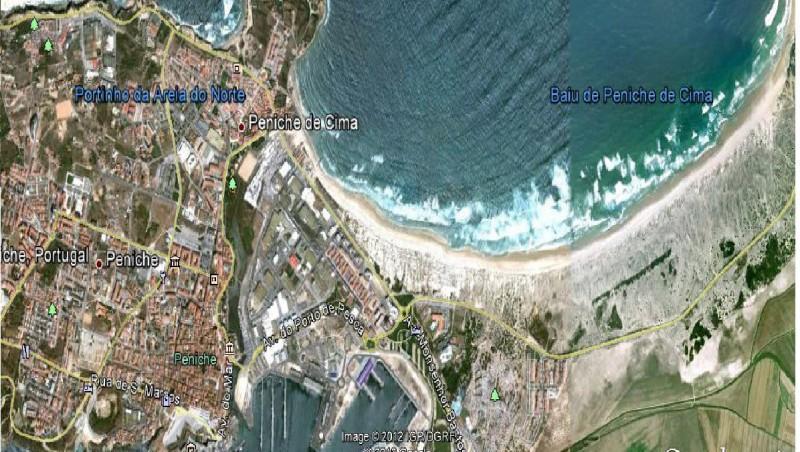 Wind report Peniche - Supertubos - Portugal (PT) 2012-08-08 17:00:00