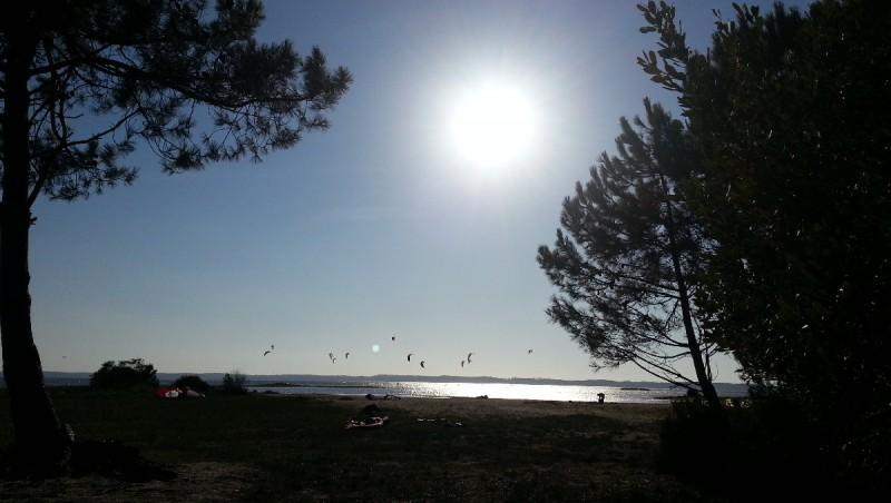 Wind report Hourtin - Lachanau - France (33) 2012-09-03 18:00:00
