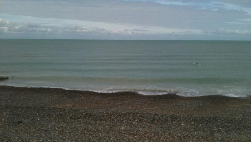 Surf report Pourville - France (76) 2012-09-28 15:00:00