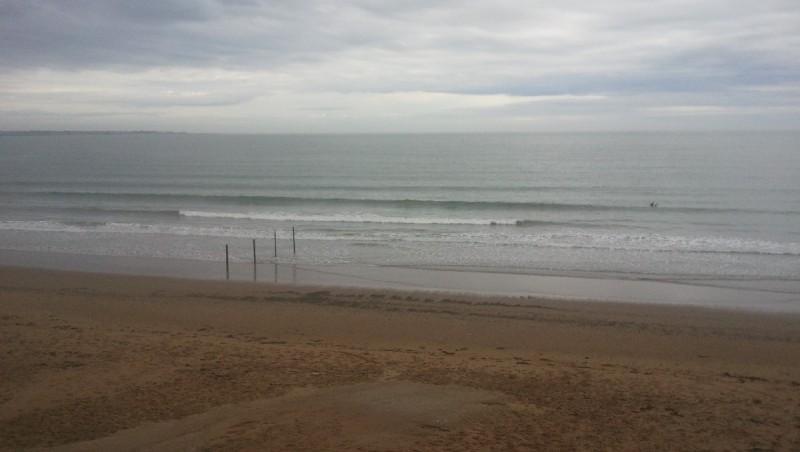 wave report Gohaud - France (44) 2012-10-08 09:00:00
