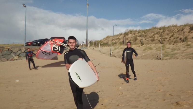 Surf report Plage des Dunes - France (85) 2012-11-01 14:00:00