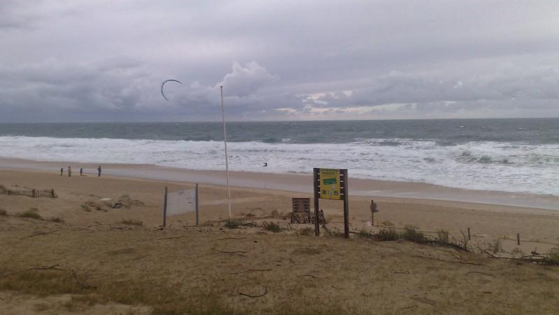 Wind report Lacanau Océan - La Nord - France (33) 2012-11-10 14:00:00