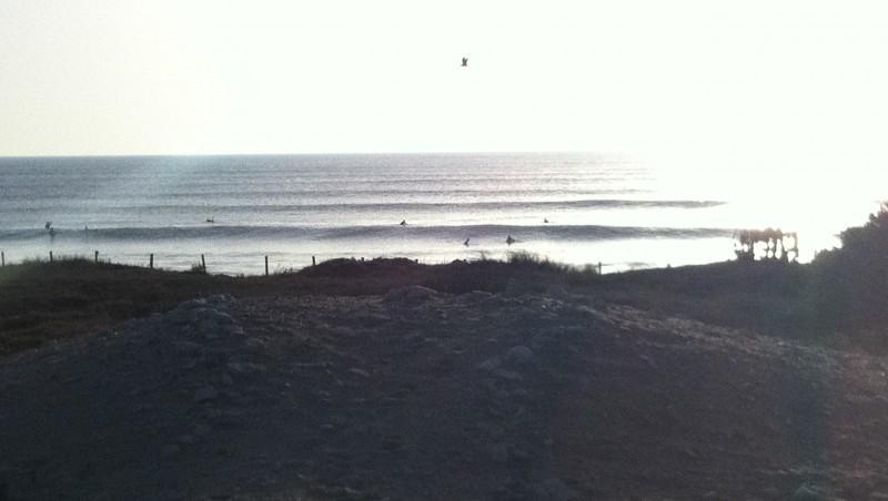 Surf report Les Grenettes - France (17) 2012-11-14 16:00:00