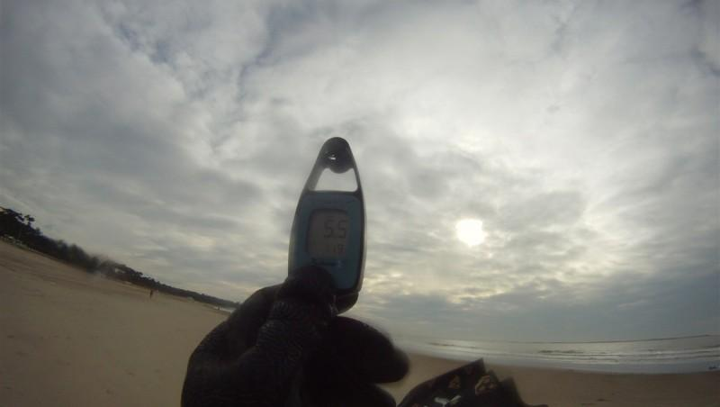Wind report Saint-Georges-de-Didonne - France (17) 2012-12-24 14:00:00