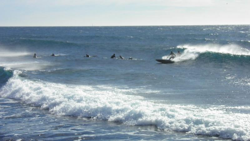 Surf report Sausset les Pins - Plage du Port - France (13) 2012-12-26 11:00:00