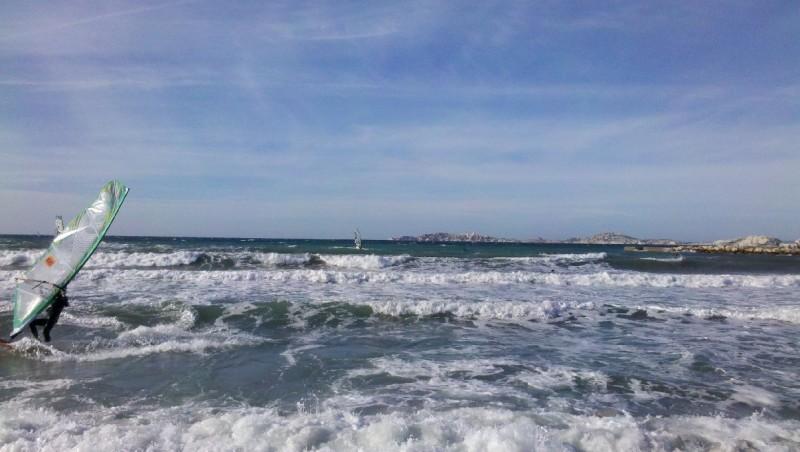 Surf report Le Prado - France (13) 2012-12-28 11:00:00