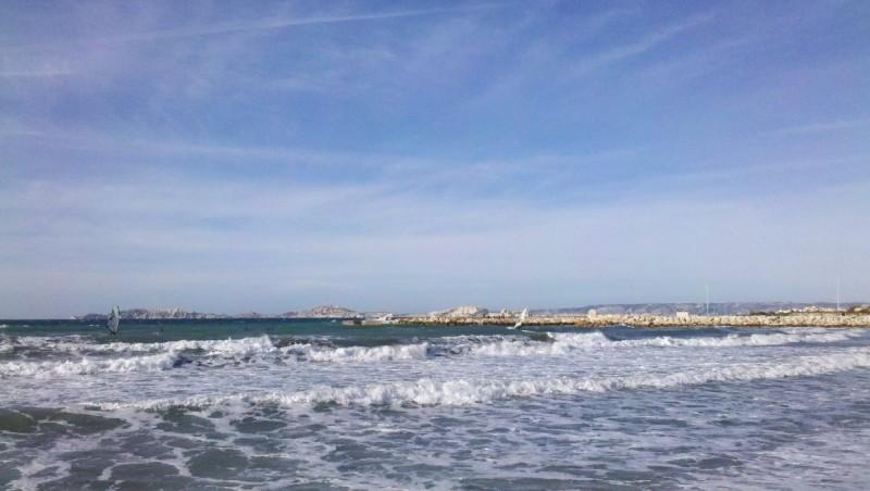 Surf report Le Prado - France (13) 2012-12-28 11:00:00