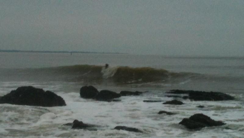 Surf report Monsieur Hulot - France (44) 2013-01-04 18:00:00
