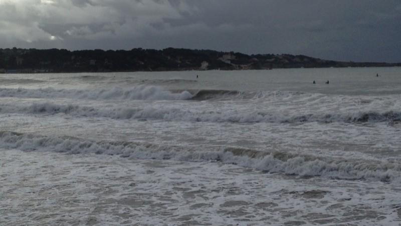 Surf report Plage du Lido - France (83) 2013-01-20 11:00:00