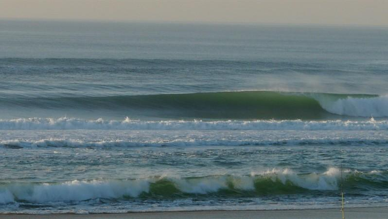 Surf report Mimizan - Plage Garluche - France (40) 2013-02-19 17:50:00