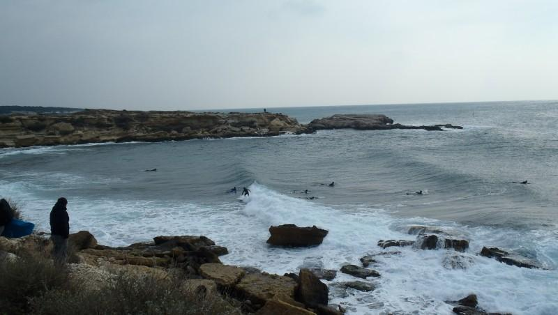 Surf report L'Arquet - France (13) 2013-02-24 11:00:00