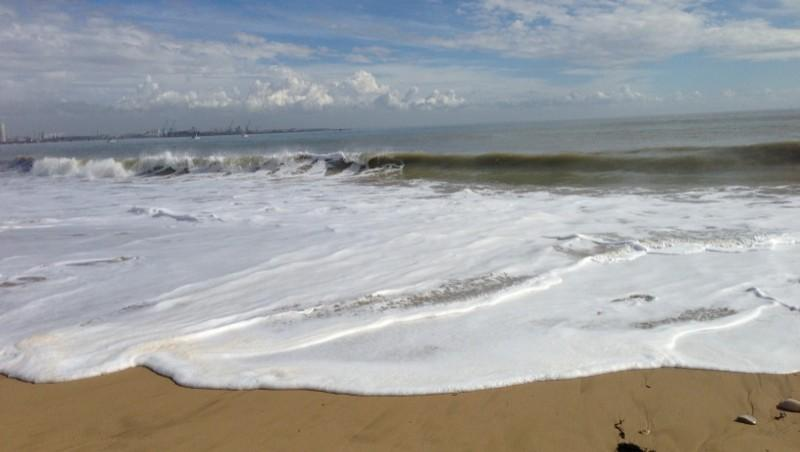 Surf report Rivedoux - France (17) 2013-03-10 13:51:00